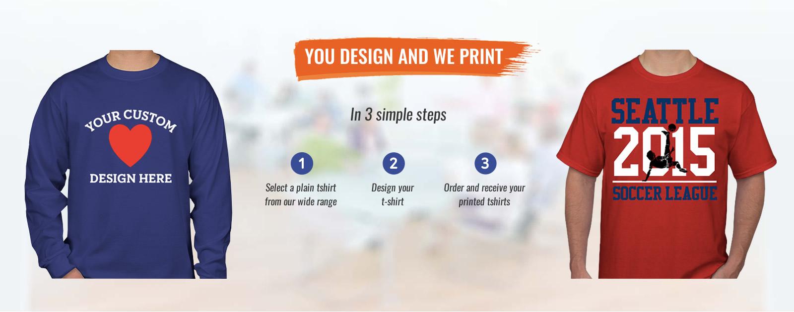 T-shirt printing seattle