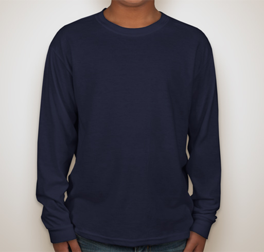 Fruit of the Loom Youth 5 oz., 100% Heavy Cotton HD Long-Sleeve T-Shirt