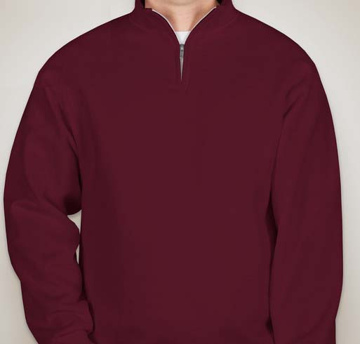 JERZEES - 1/4-Zip Cadet Collar Sweatshirt