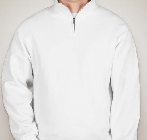 Gildan Heavy Blend 8 oz. Vintage Classic Quarter-Zip Cadet Collar Sweatshirt