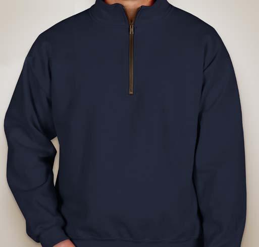 Harriton 8 oz. Quarter-Zip Fleece Pullover
