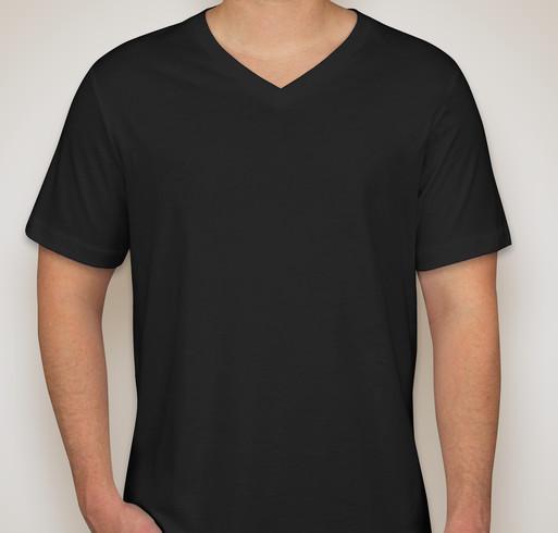 Bella Canvas V-neck Cotton T-shirt