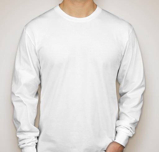 American Apparel 100% Cotton Long Sleeve T-shirt