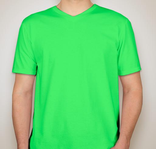 100% Ringspun V-neck Cotton T-shirt